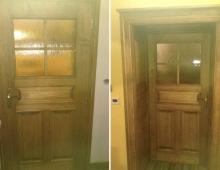 Starodávne interiérové dvere